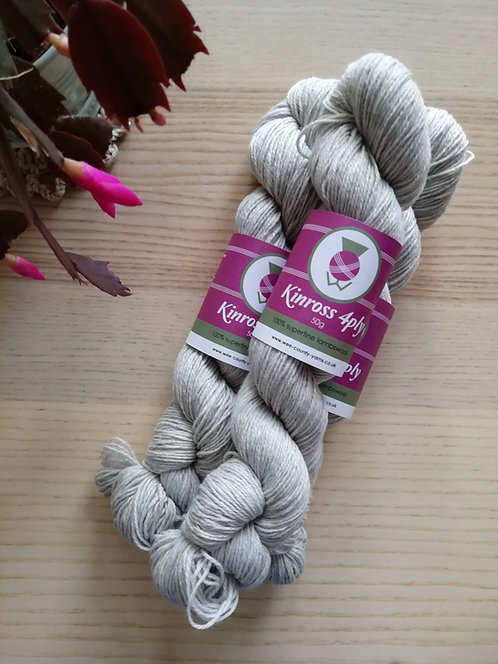 Kinross 4ply Lambswool by Wee County Yarns