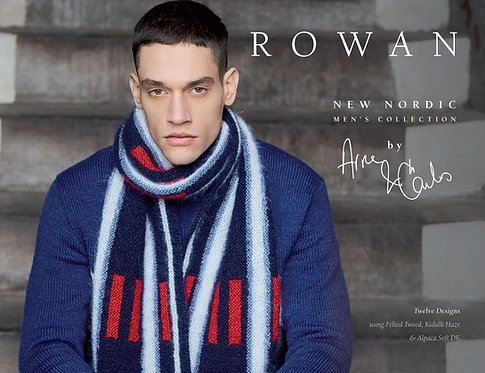Rowan New Nordic - Men's Collection by Arne & Carlos