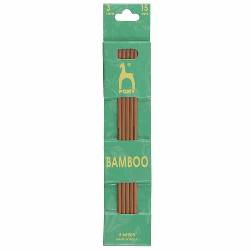 Bamboo Double Pointed Needles by Pony