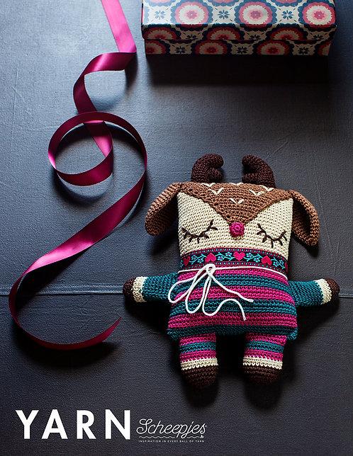 Sleeping Reindeer Crochet Kit