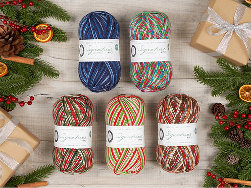 Signature 4ply Christmas Collection by West Yorkshire Spinners