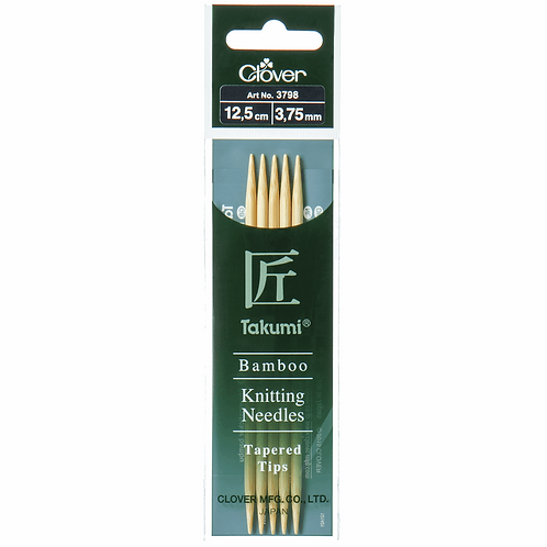 Takumi Bamboo Double Pointed Needles by Clover