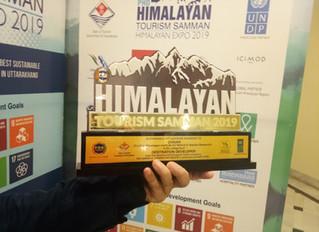 Himalayan Sustainable Tourism Samman 2019