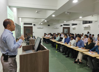 CHINAR CONDUCTED A TALK FOR BUSINESS MANAGEMENT STUDENTS AT XUB