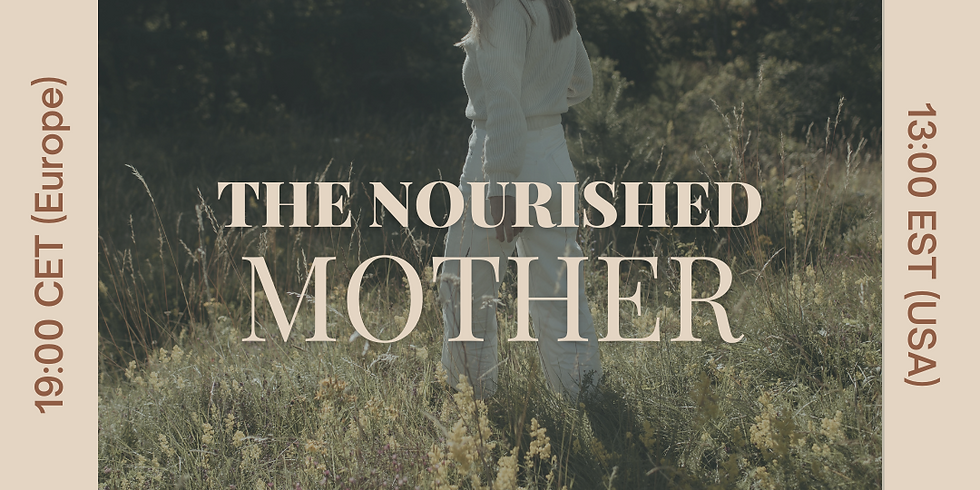 Free Webinar on The Nourished Mother