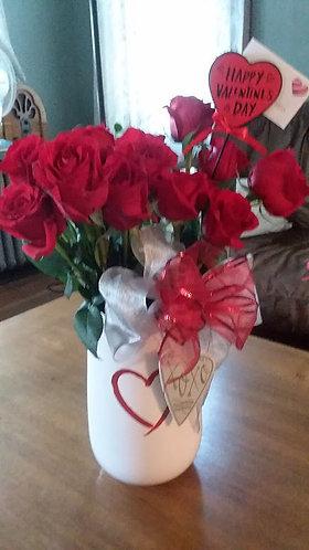 Fresh Valentine's Day Roses