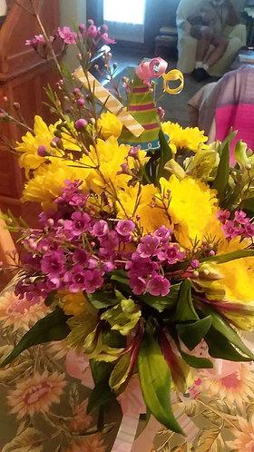 Summer Fresh Flower Arrangement