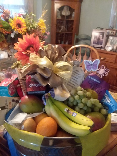 Comfort Fruit Basket for Sympathy