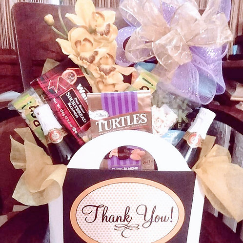 """Thanks A Lot"" Gift Basket"
