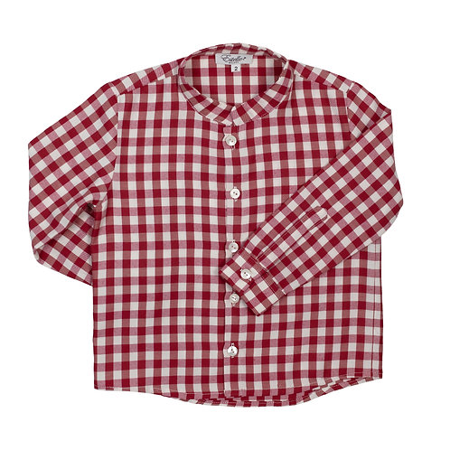 EDOARDO SHIRT - BORDEAUX