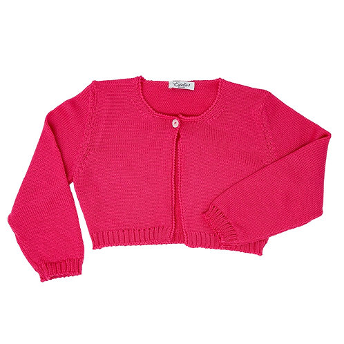 CARDIGAN -STRAWBERRY