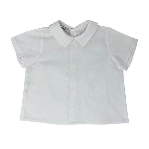 LEO BABY SHIRT - WHITE