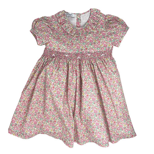 ROSA LIBERTY SMOCKED DRESS