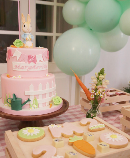 A Peter Rabbit - themed Birthday Party