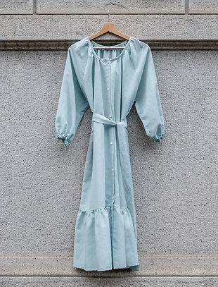 ESTELLE WOMAN DRESS - Linocotton Green