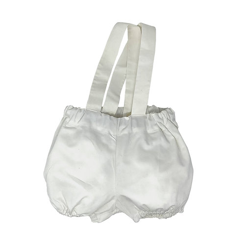 ARCHIE BLOOMERS -WHITE