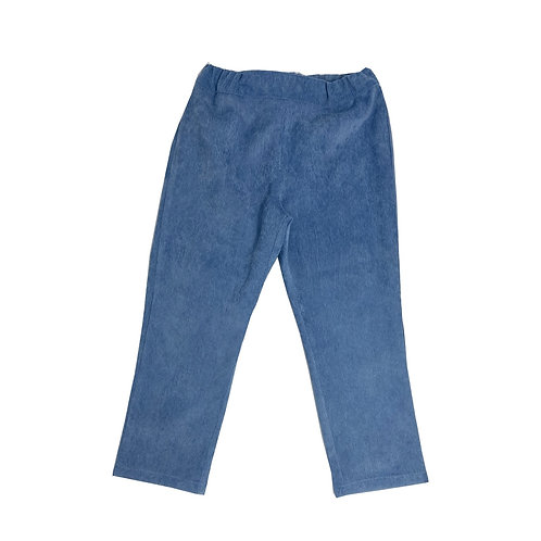 CORDUROY PANTS - LIGHT BLUE