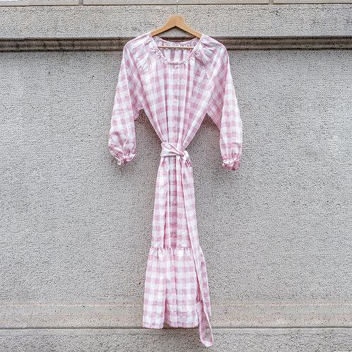 ESTELLE WOMAN DRESS -Poppy pink