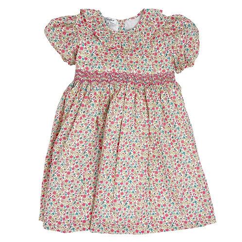 MATILDE SMOCKED DRESS