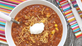 FALL In Love With Pumpkin Turkey Chili