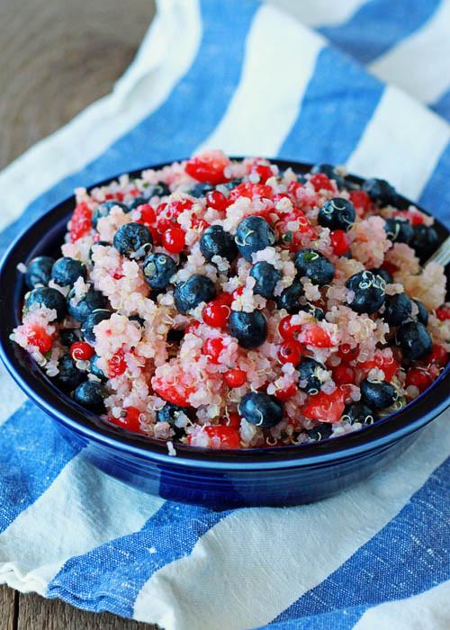 Recipe: Patriotic Quinoa Salad