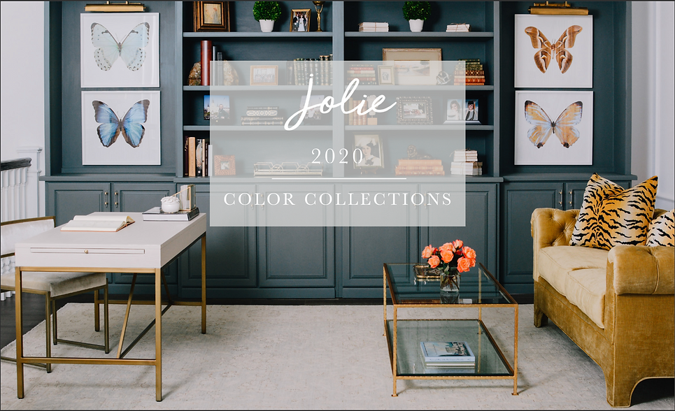 Jolie Paint 2020 Color Collection