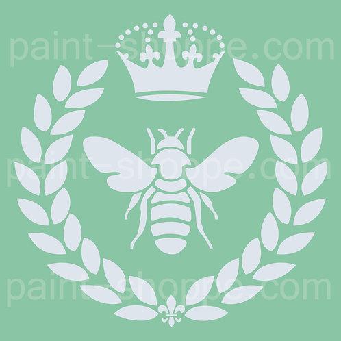Queen-Bee-stencil-01
