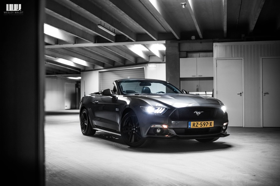 10. FORD MUSTANG 5.0 GT CABRIO Front2