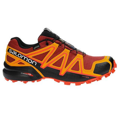 Кроссовки мужские Salomon Speedcross 4 GTX Red Dalhia/Bright Marigold/Fiery Red