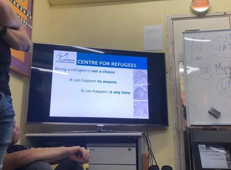 【成為難民並非一種選擇】社區活動:探訪難民中心