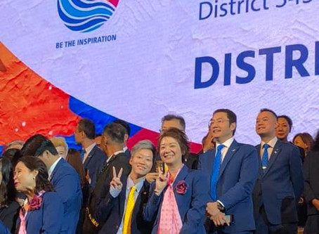 【Rotary District Installation 2019】