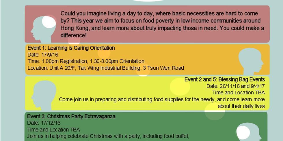 Blessing Bag Event 「密密包,袋袋送」包裹福袋大行動 - ( 2nd Community Service )