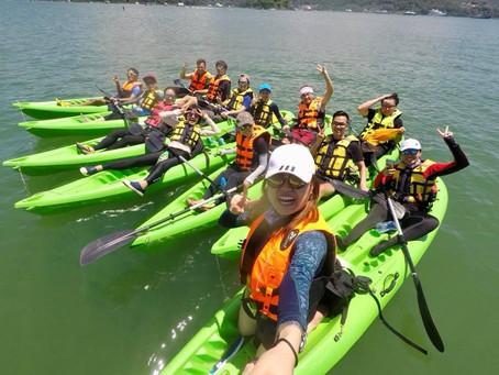 團務服務:「捉緊夏天的尾巴」獨木舟活動