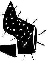 dessin d'une chaussure à talon qu pique