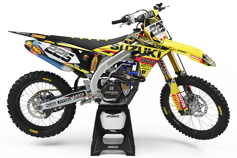 2020 SR75 WORLD TEAM SUZUKI FULL GRAPHICS KIT