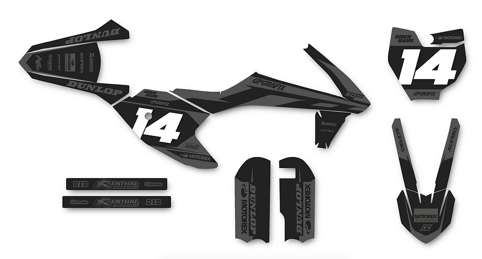 KTM 50SX FACTORY KIT (STEALTH)