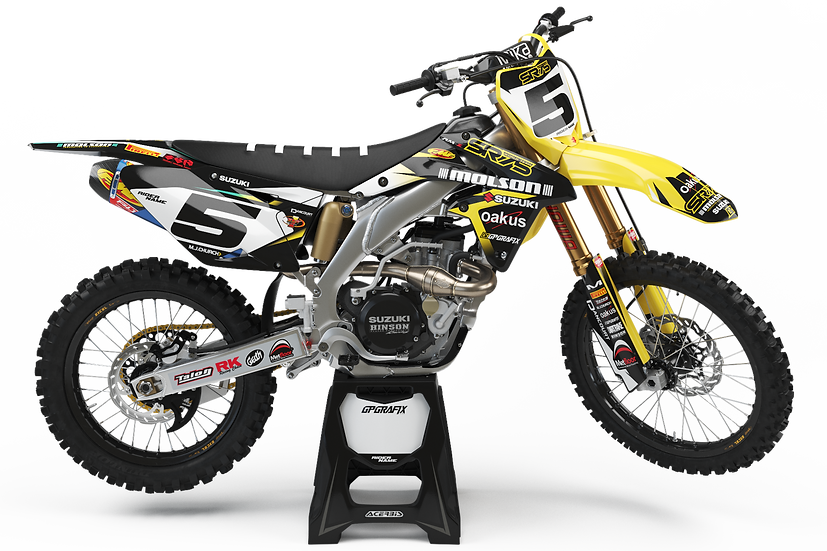 2016 SR75 WORLD TEAM SUZUKI FULL GRAPHICS KIT