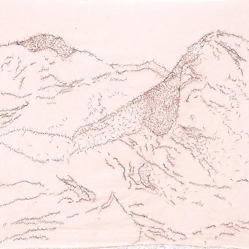Blush Mountain Tapestry