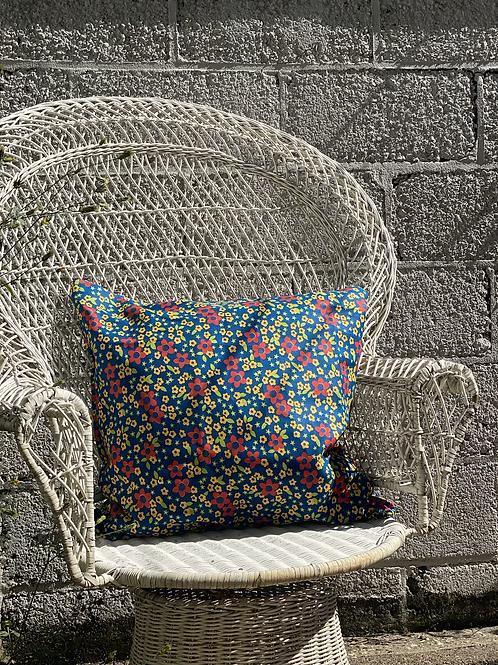 Floral & Star Pillow