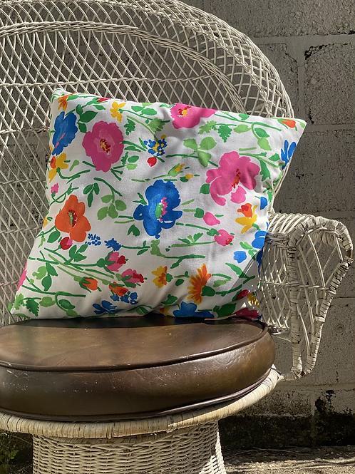60's Floral Pillow Set