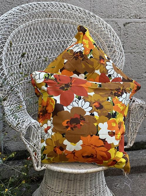 Warm Floral Pillow Set