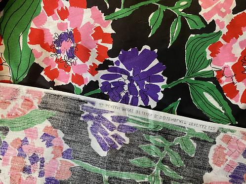 Painterly Floral Custom Kaftan