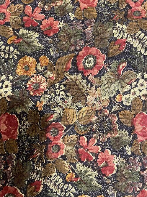 Royal Floral Custom Julia Top