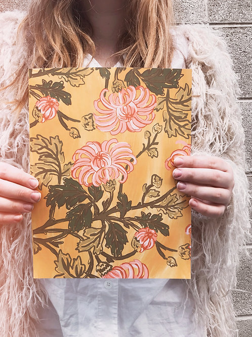 Botanical Floral Print