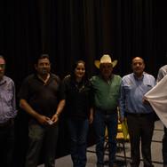 Compañeros de Chihuahua y miembros de la ANMVEA