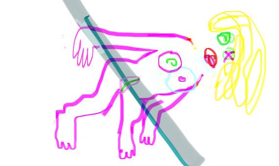 digital drawing, 2021