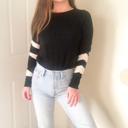 Ann Taylor Black Wool Sweater