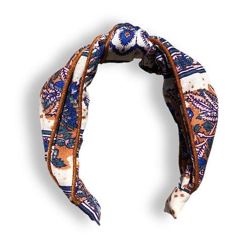Neutral Print Fabric Headband