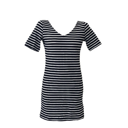 H&M Basic Stripe Bodycon Dress