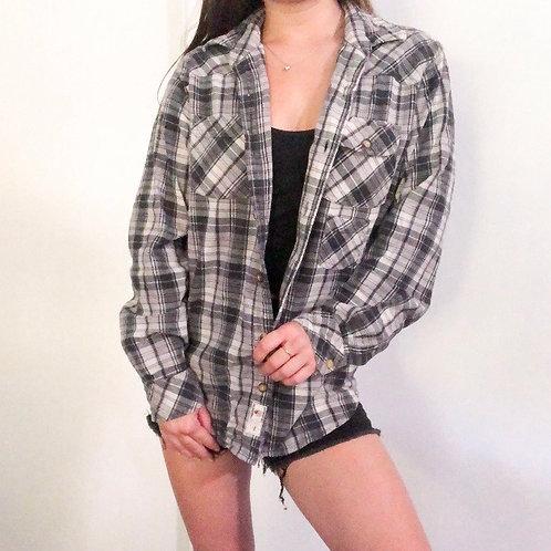 Levi's Dark Grey Flannel
